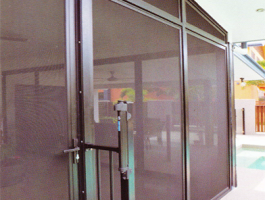 Stainless Steel Mesh Security Screen Coolum